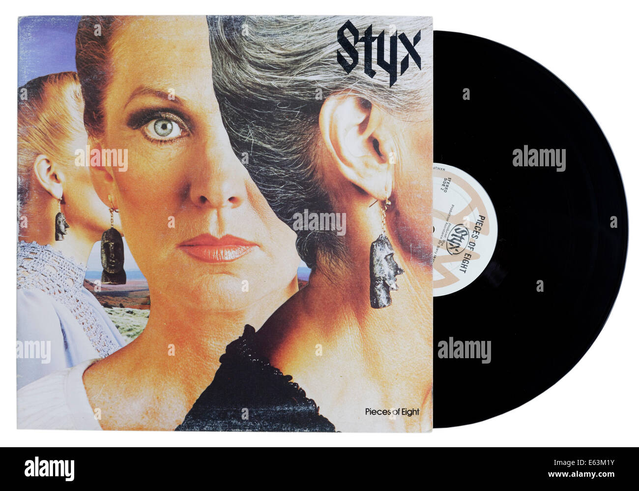 Pieces of Eight by Styx - Stock Image
