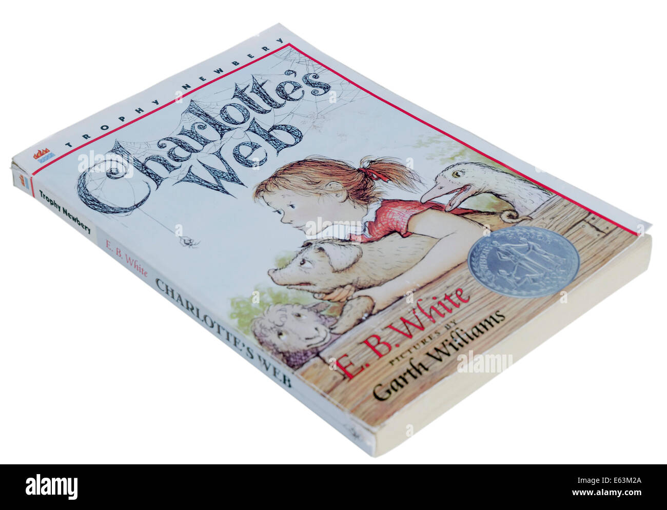 Charlotte's Web by EB White - Stock Image