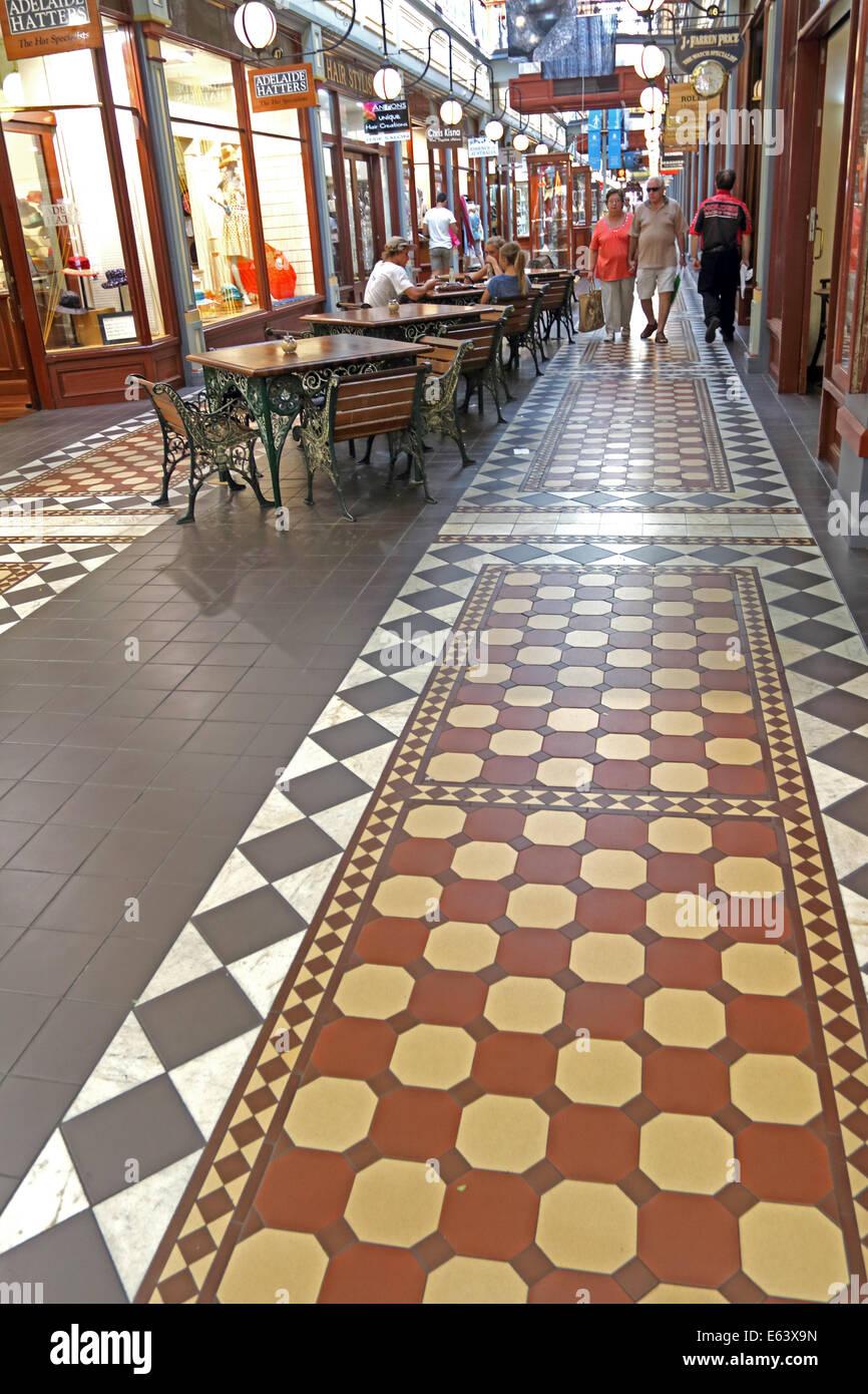 Adelaide Arcade in Adelaide Australia Stock Photo