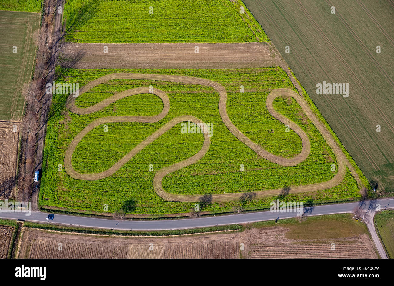 Track And Field Above High Resolution Stock Photography And Images Alamy