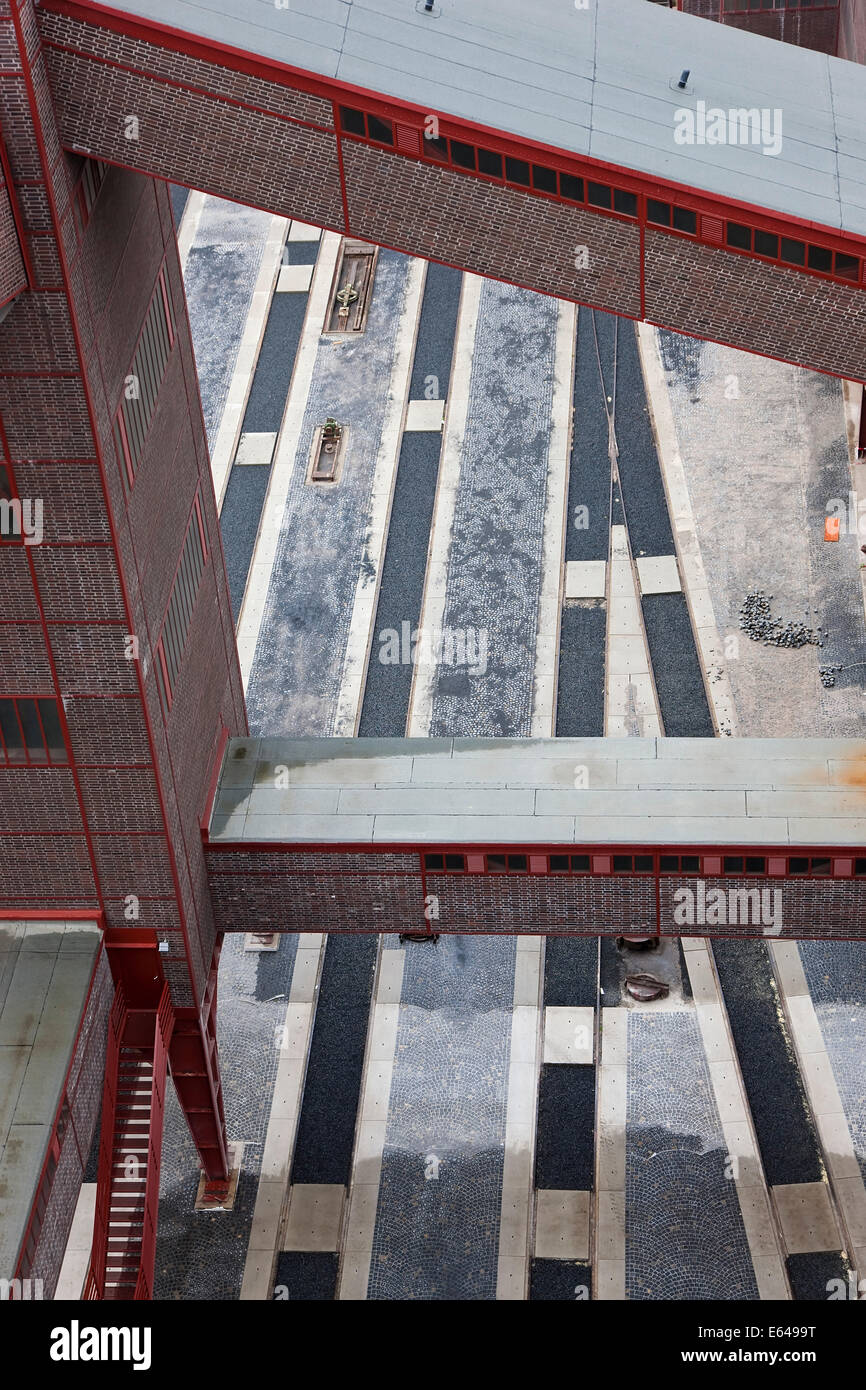 Zollverein, Ruhr Valley, Essen, North Rhine-Westphalia, Germany - Stock Image