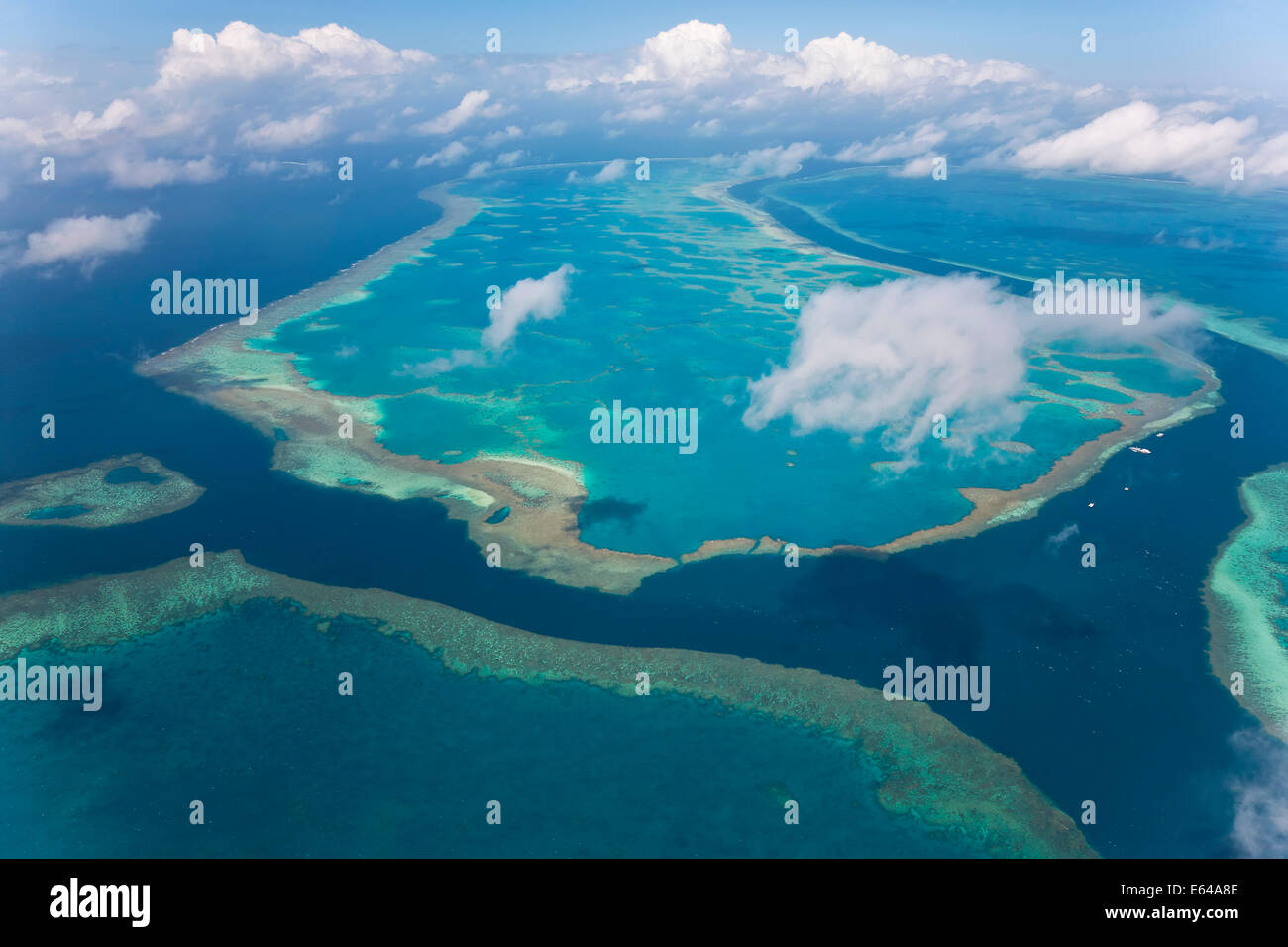 Great Barrier Reef, Queensland, Australia - Stock Image