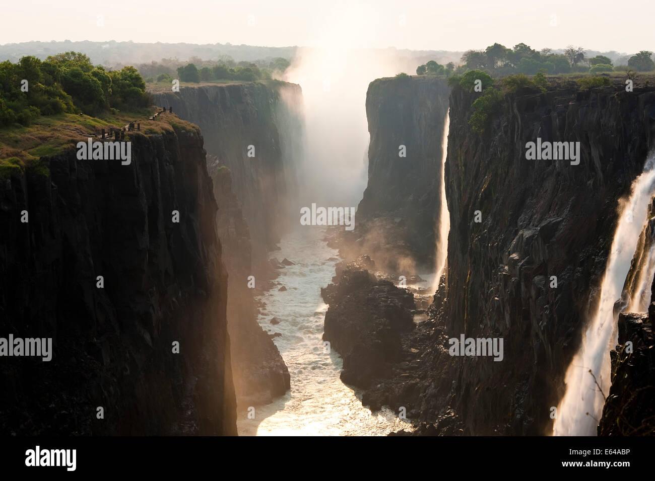 Victoria Falls, Zambia - Stock Image