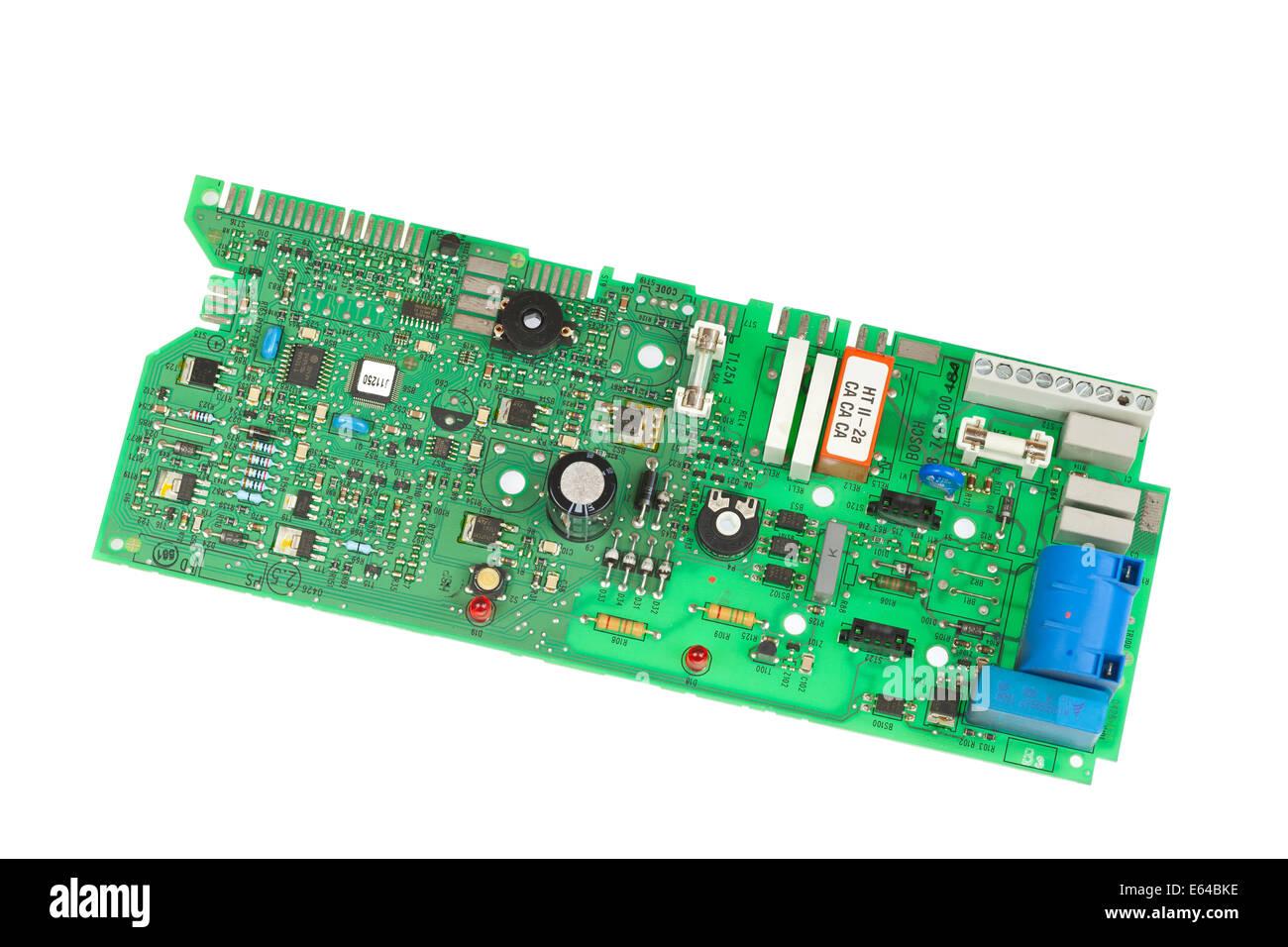 Electrical circuit board - Stock Image