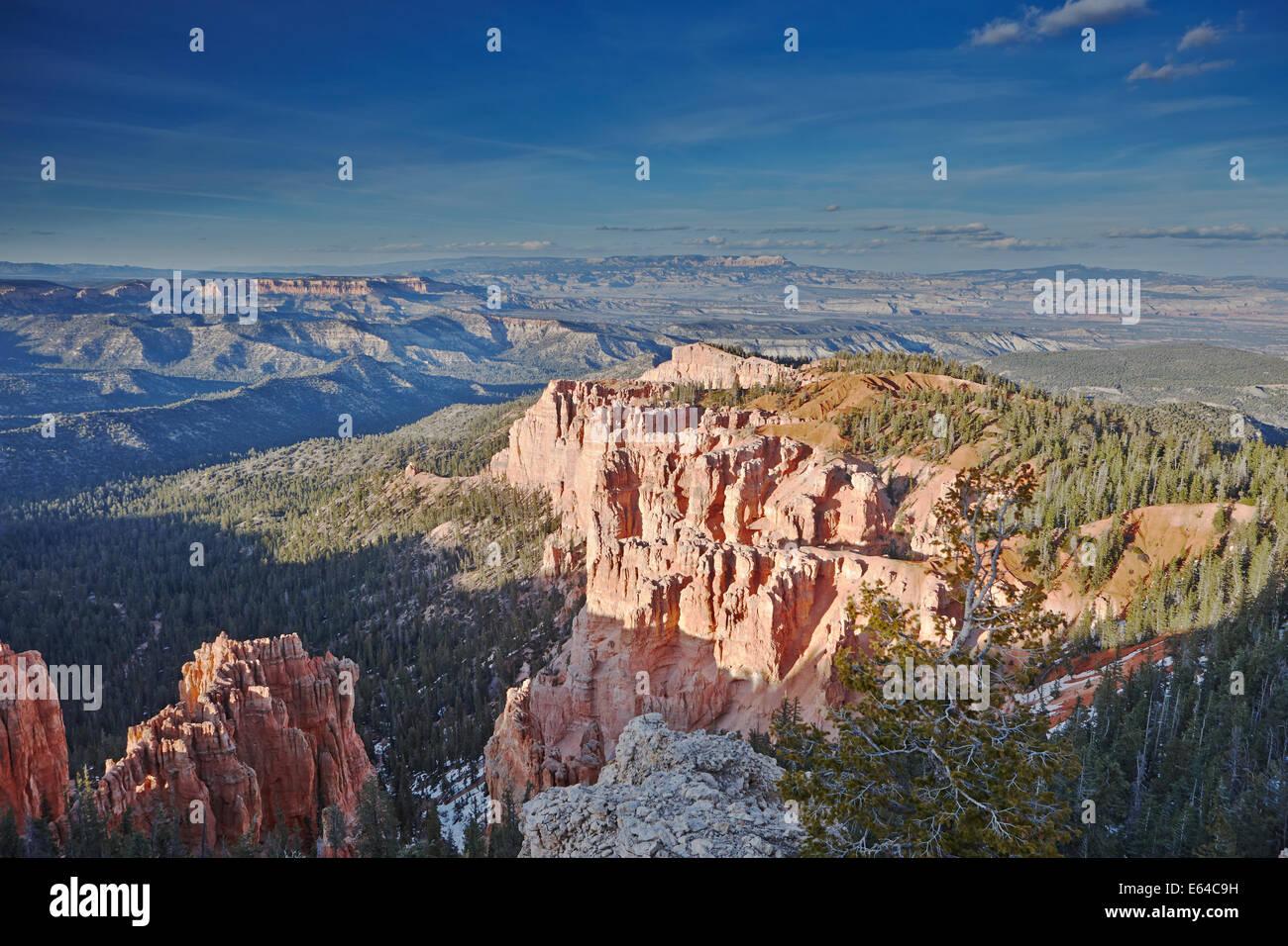 Rainbow Viewpoint. Bryce Canyon, Utah, USA. - Stock Image