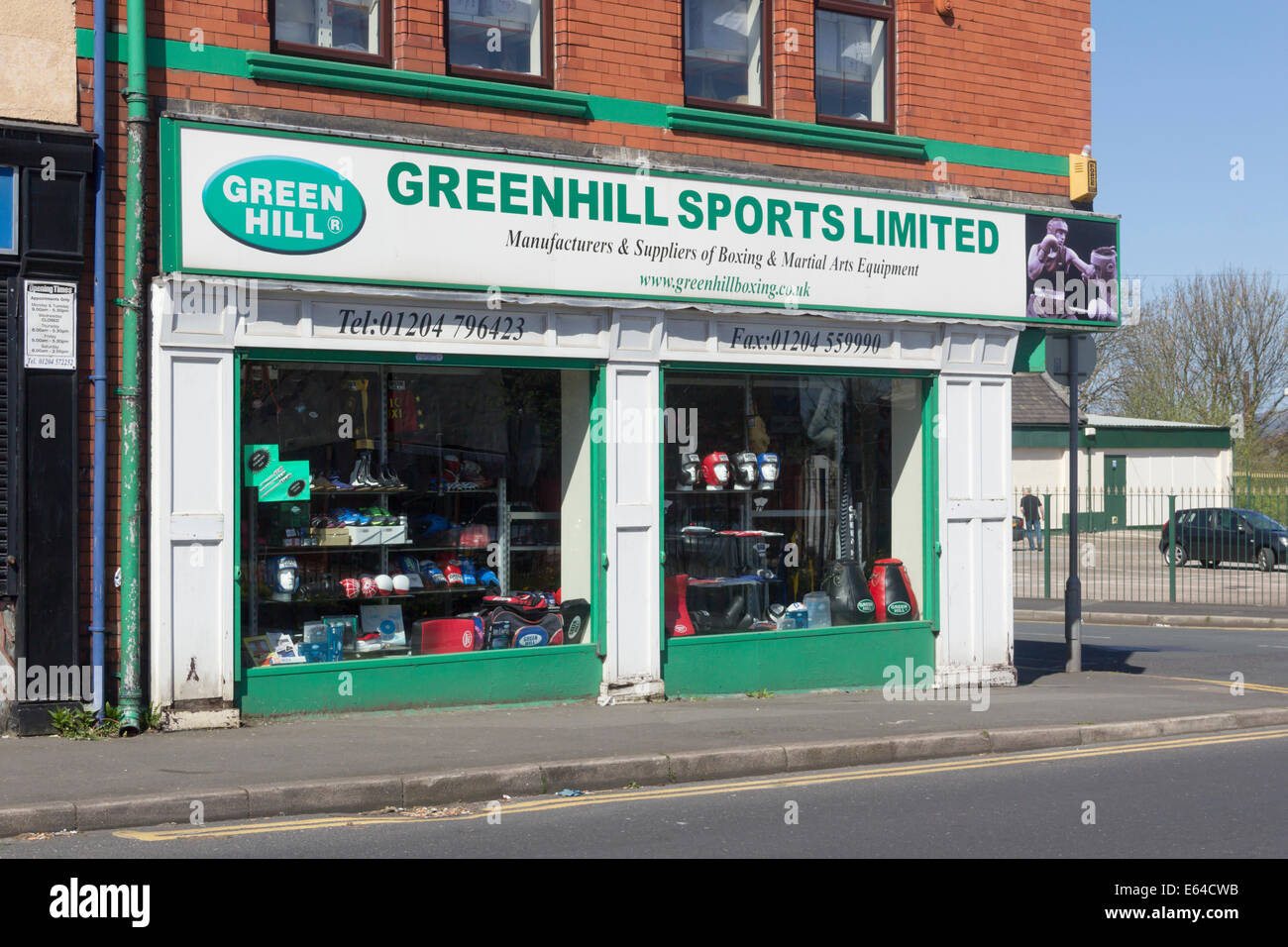 Business premises of Greenhill Sports Limited, makers of