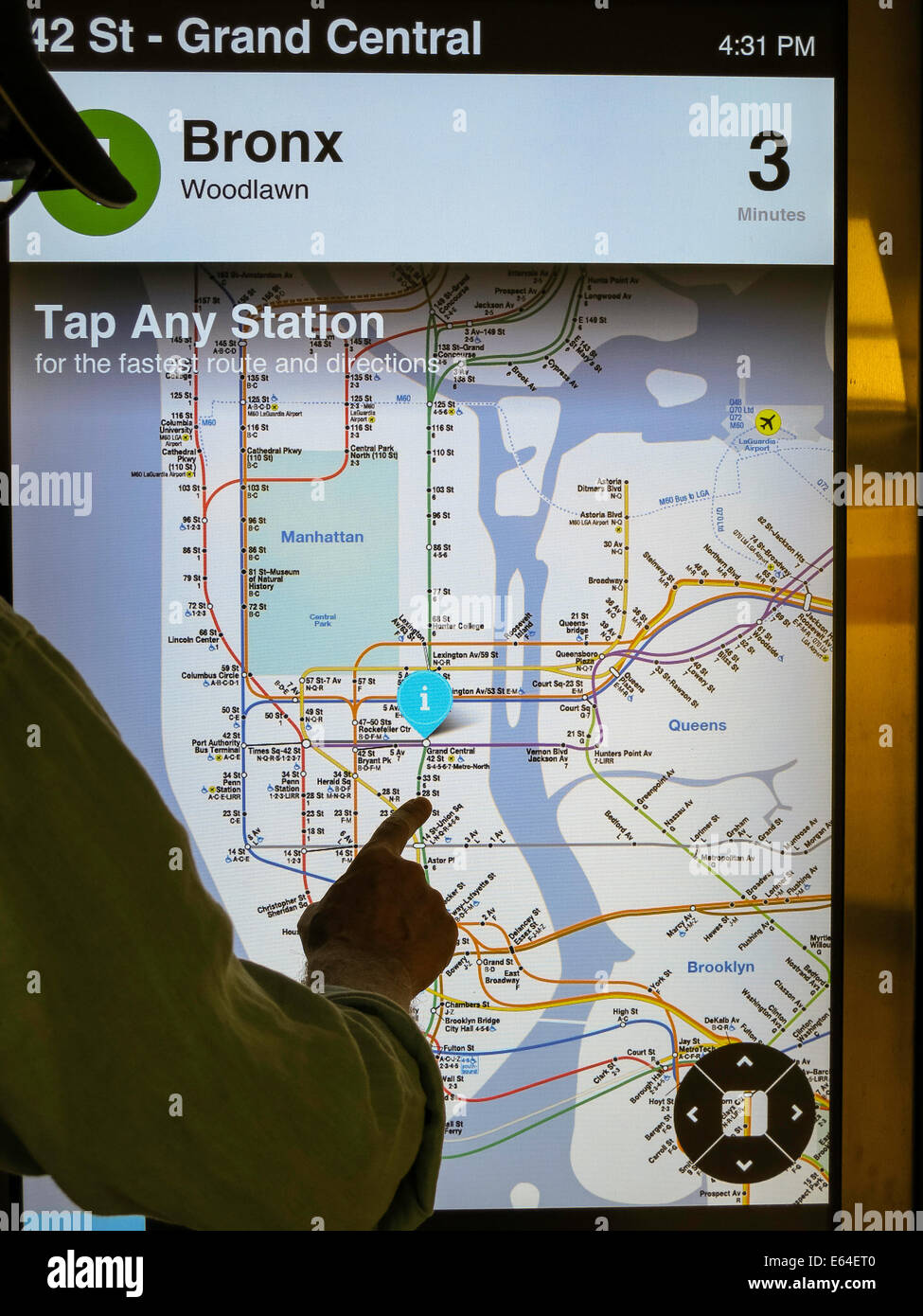 Mobile Nyc Subway Map.Silhouette Of Rider In Front Of Illuminated Mta Subway Map Nyc