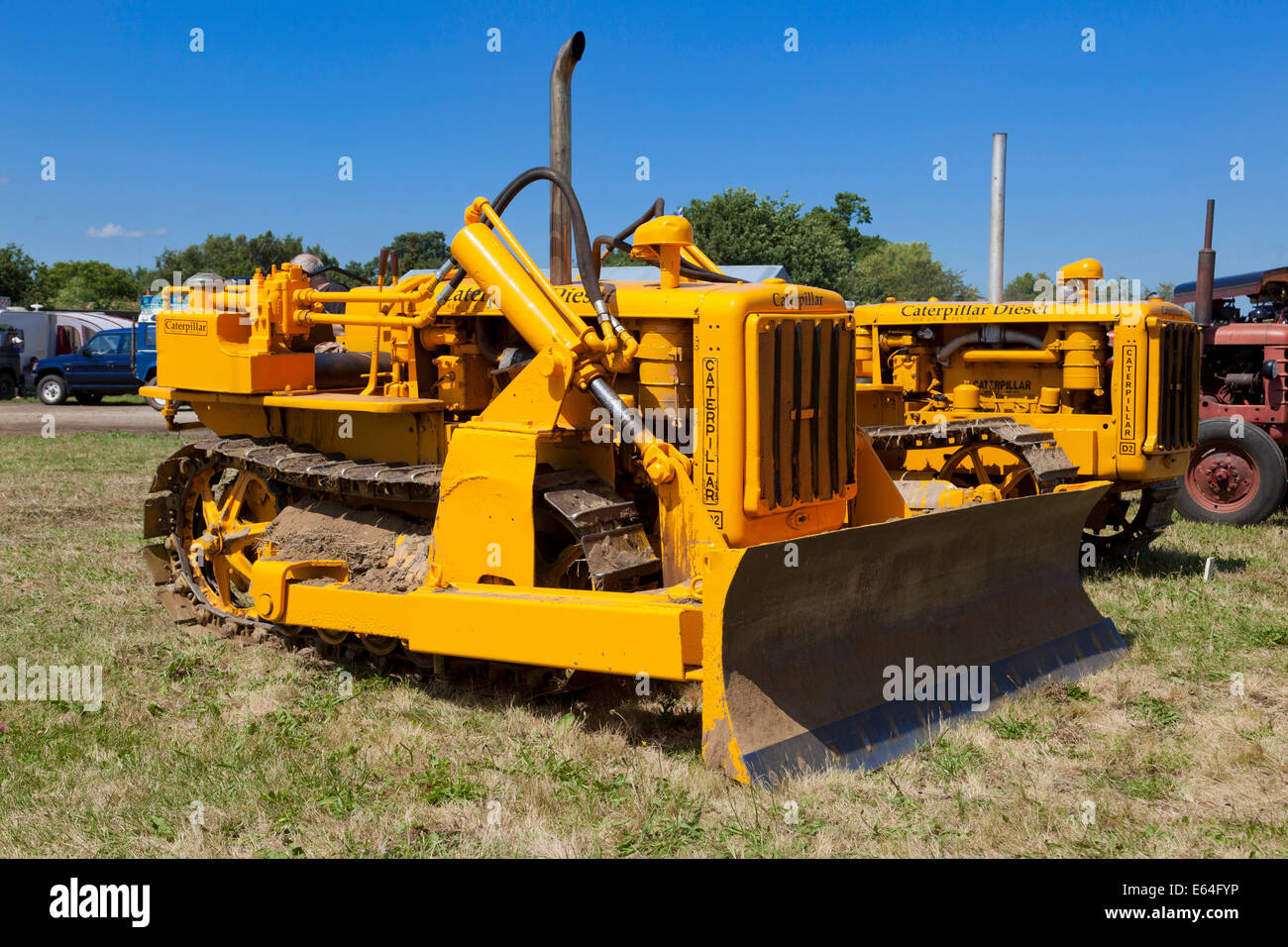 Caterpillar Bulldozer Stock Photos & Caterpillar Bulldozer Stock