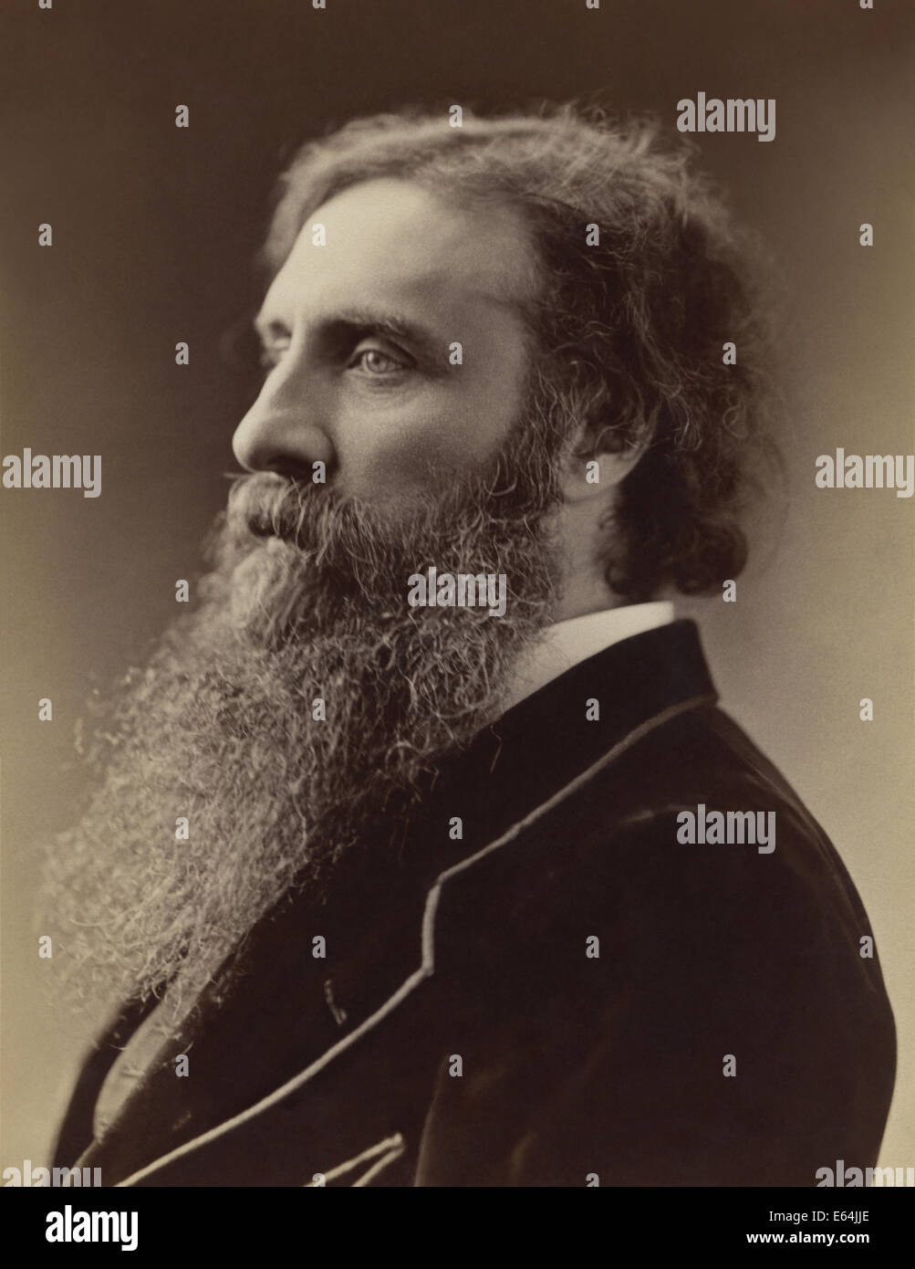 Scottish writer and minister George MacDonald was a major literary influence on CS Lewis, JRR Tolkien, WH Auden - Stock Image