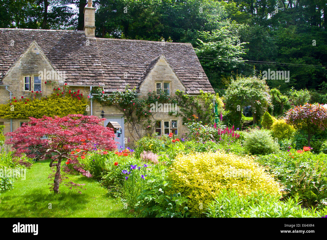 18th Century Row Of Listed Stone Cottages Beautiful