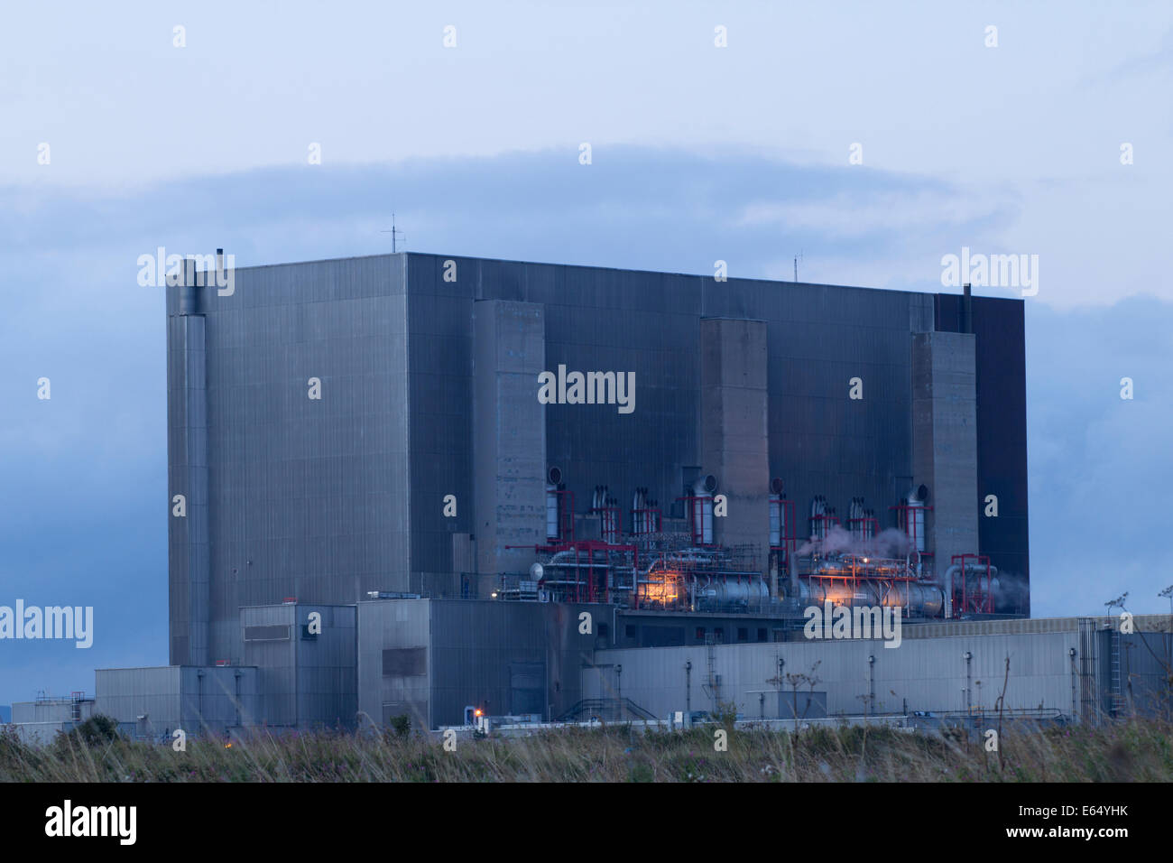 Hartlepool nuclear power station. UK - Stock Image
