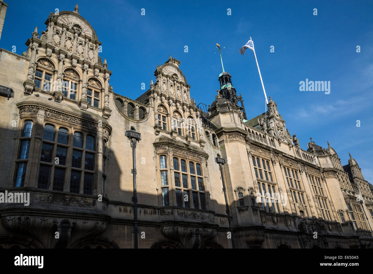 Town Hall, St Aldate's Street, Oxford, England, UK - Stock Image