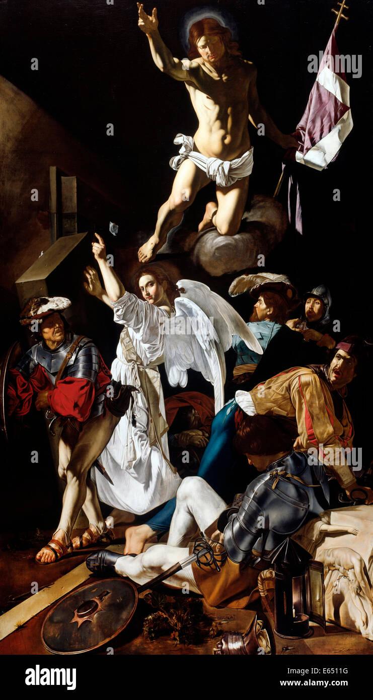Francesco Buoneri, The Resurrection, 1619–1620 Oil on canvas. Art Institute of Chicago, Chicago, USA. - Stock Image
