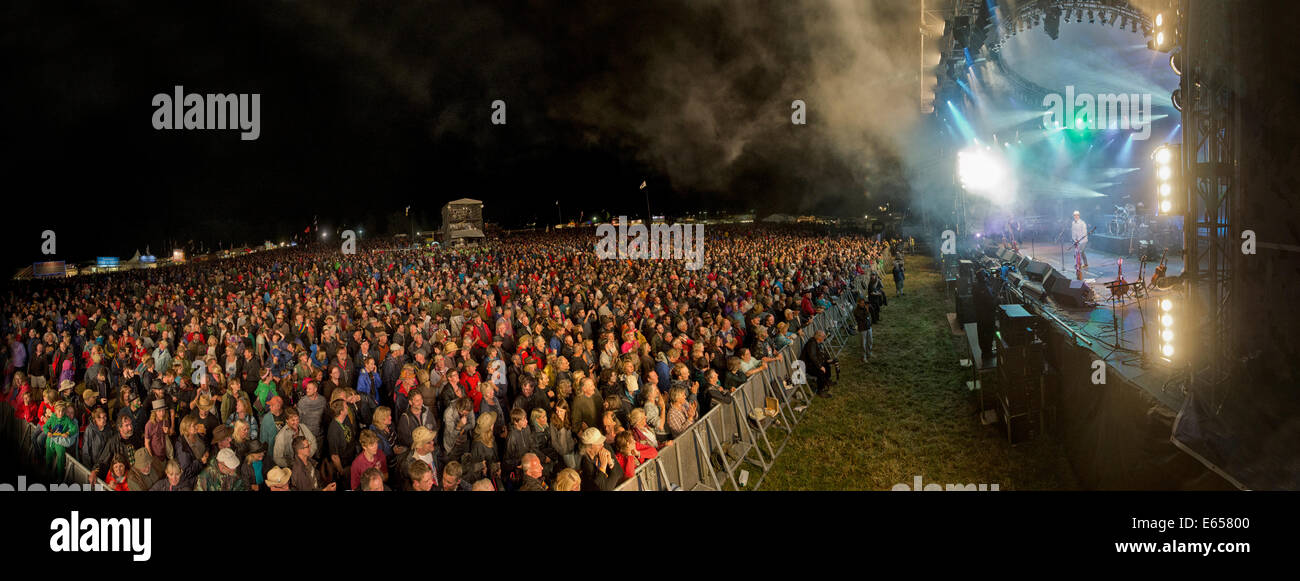 Fairport Convention Cropredy Festival - Stock Image