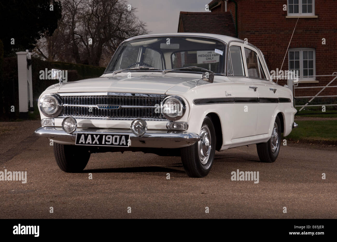 1963 Vauxhall VX 4/90 sports saloon car Stock Photo
