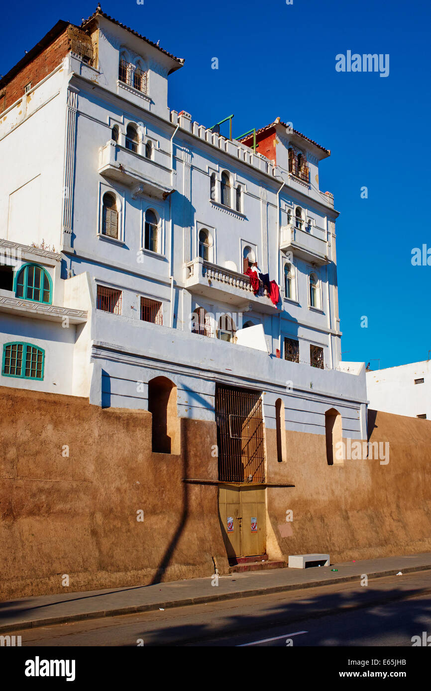Morocco, Casablanca, Tuscany Palace, old Medina, 1910 - Stock Image