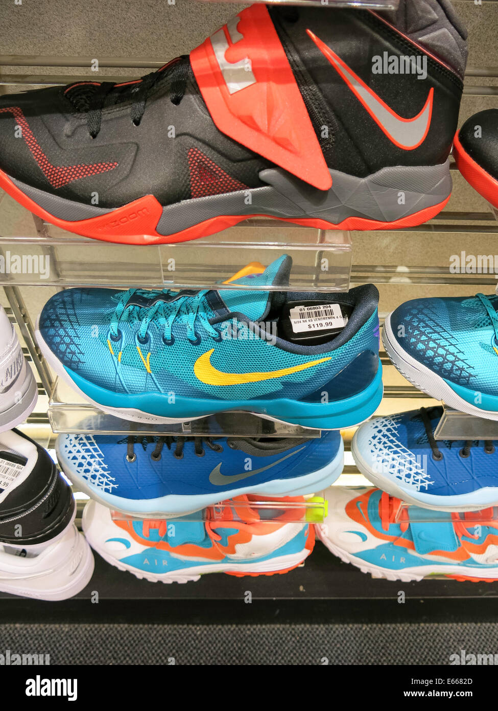 Nike Athletic Shoes, Champs Sports in