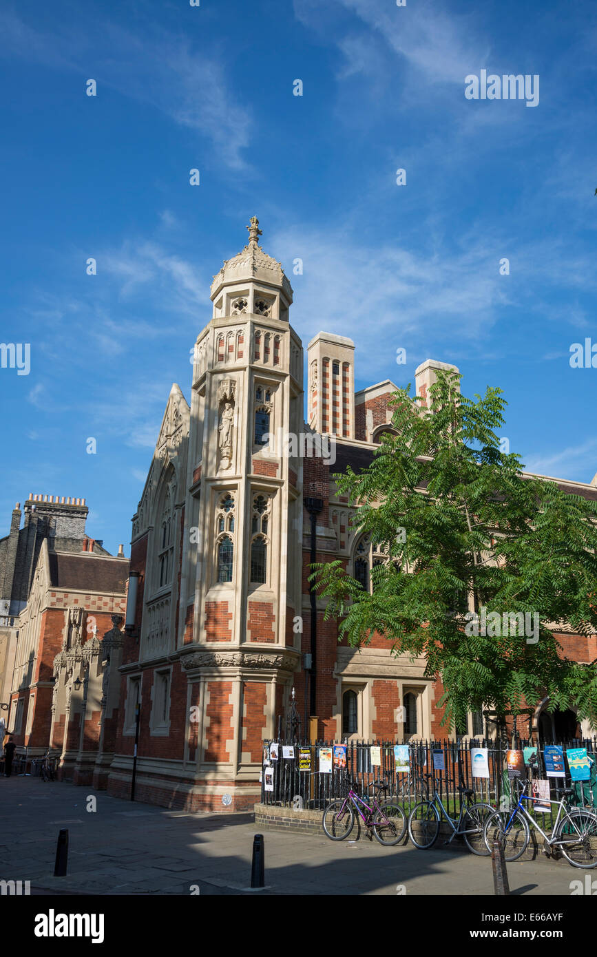 Divinity School, St John's College, Cambridge, England, UK - Stock Image