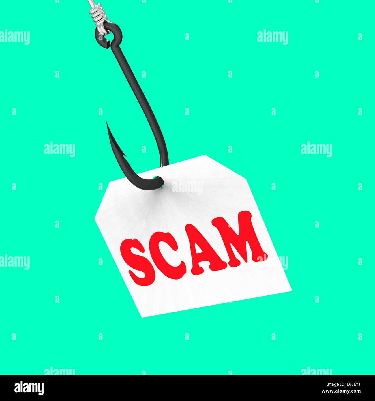 Scam Meaning Fraud Rip Off Deceive Stock Photos & Scam Meaning Fraud
