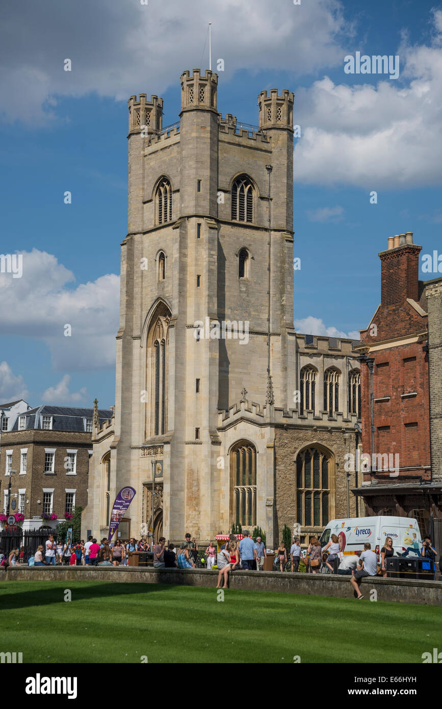 Great St Mary's Church, Cambridge, England, UK - Stock Image