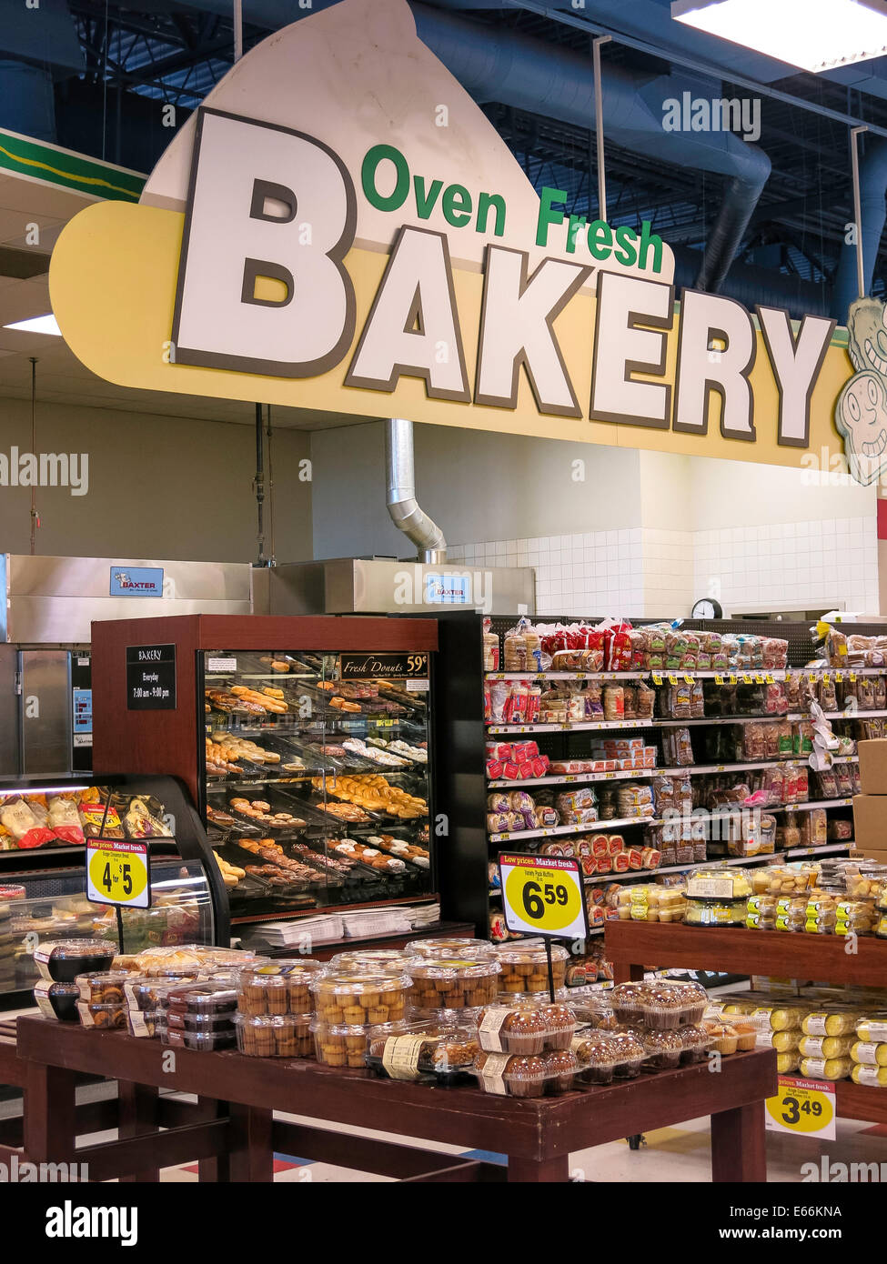 Fresh Bakery Area Smiths Food And Drug Store In Great Falls Montana USA