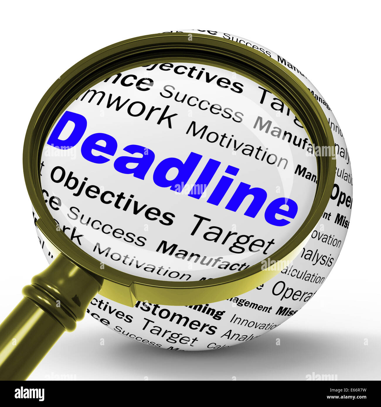 Deadline Definition Meaning Job Time High Resolution Stock Photography And Images Alamy