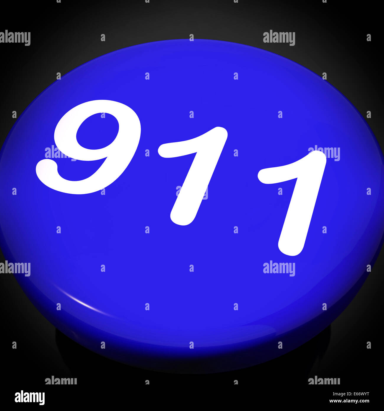 786e2bfa98d345 Nine One Switch Showing Call Emergency Help Rescue 911 Stock Photo ...