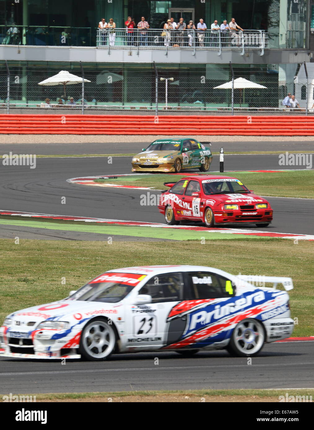 British Touring Cars - Stock Image