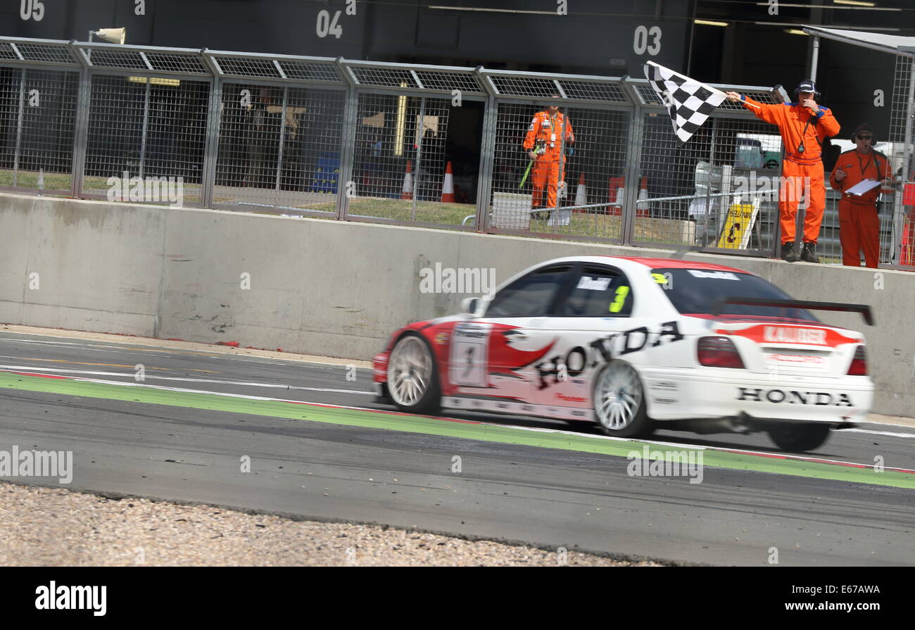Race Winner, British Touring Cars - Stock Image