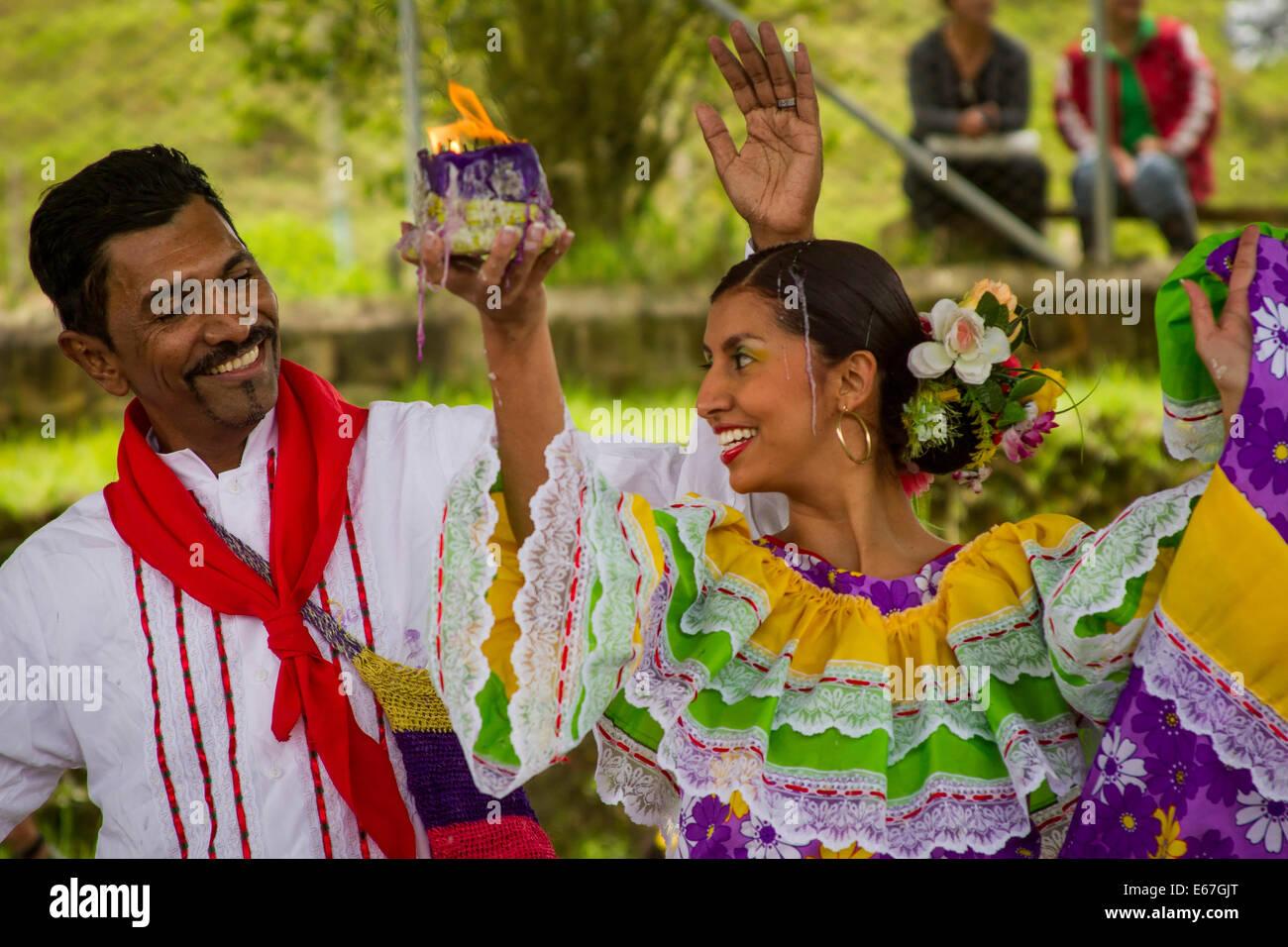 Cumbia Dance - Stock Image
