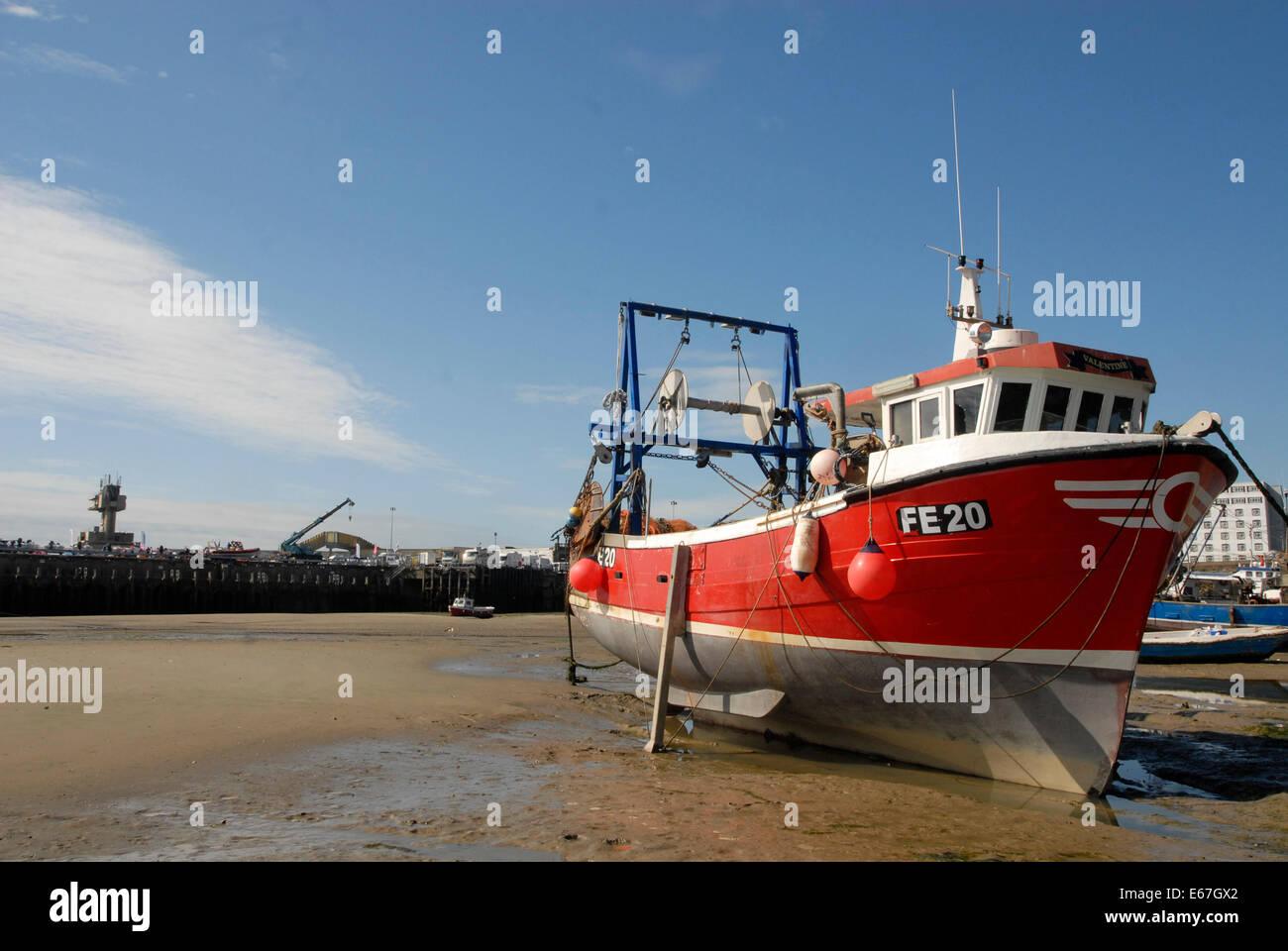 Folkestone Harbour - Stock Image