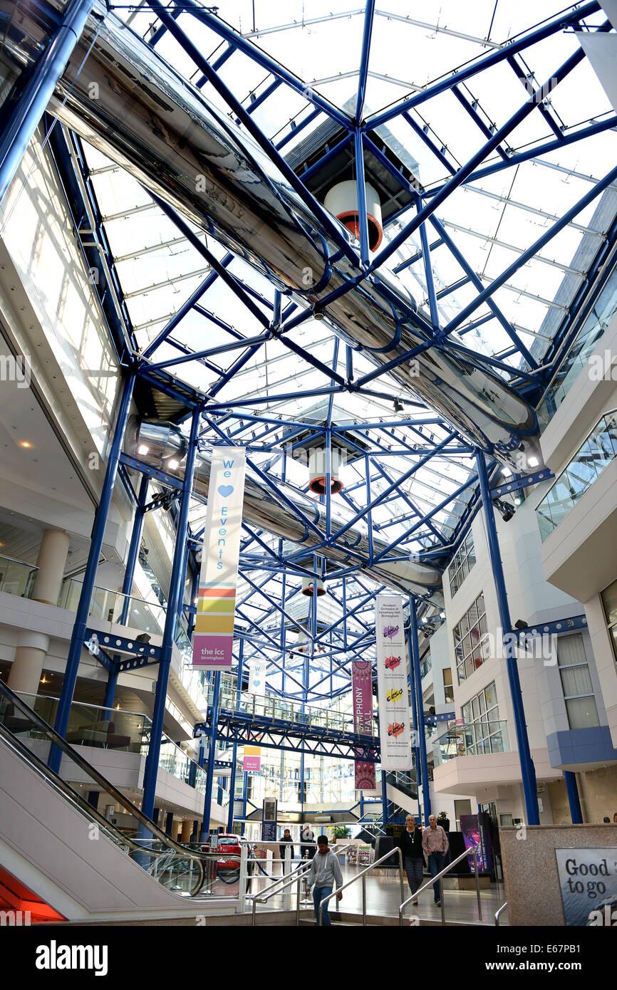 The ICC International Conference Centre Birmingham Uk - Stock Image