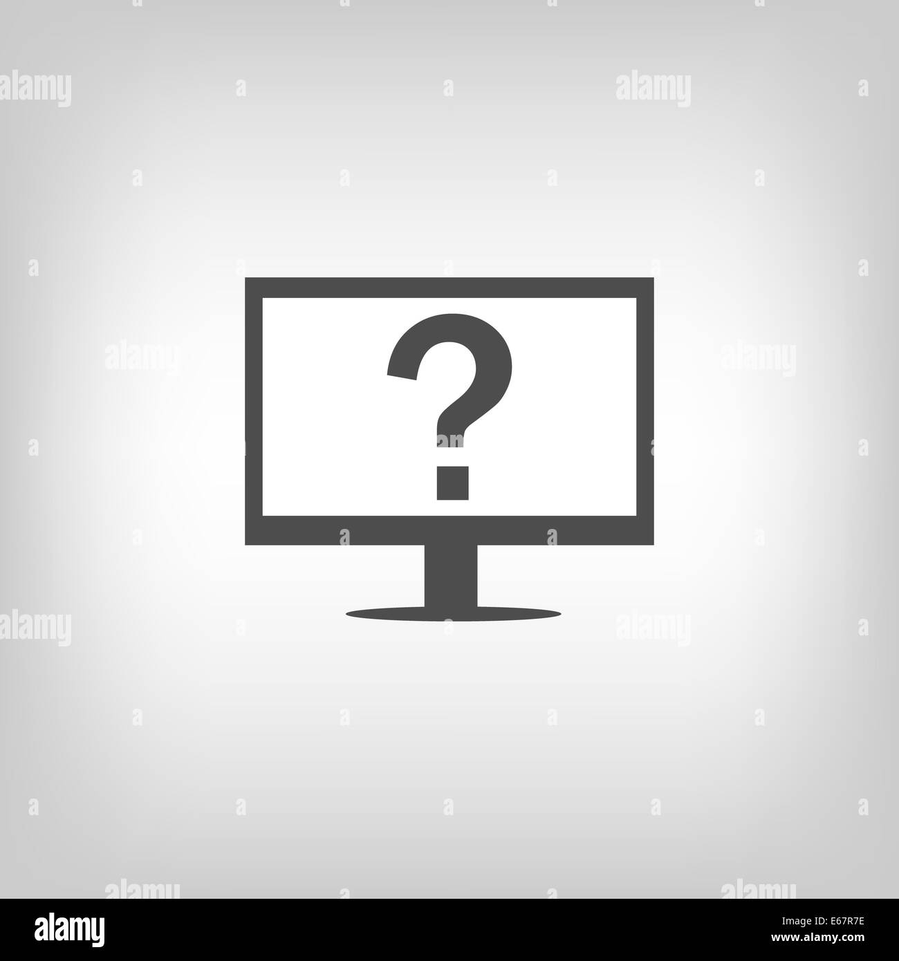 Assistance sign - Stock Image