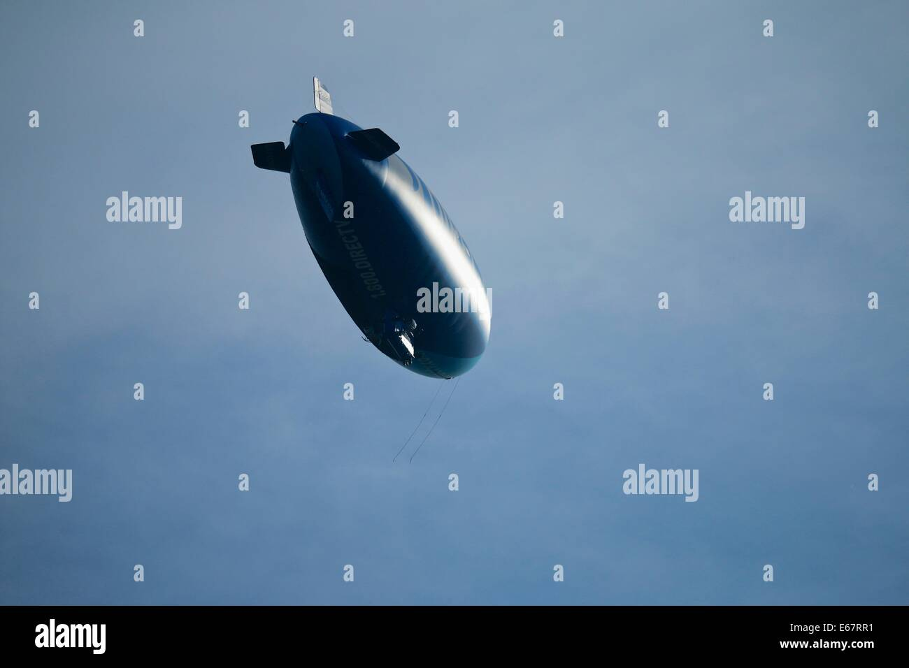 Blimp, airship. - Stock Image