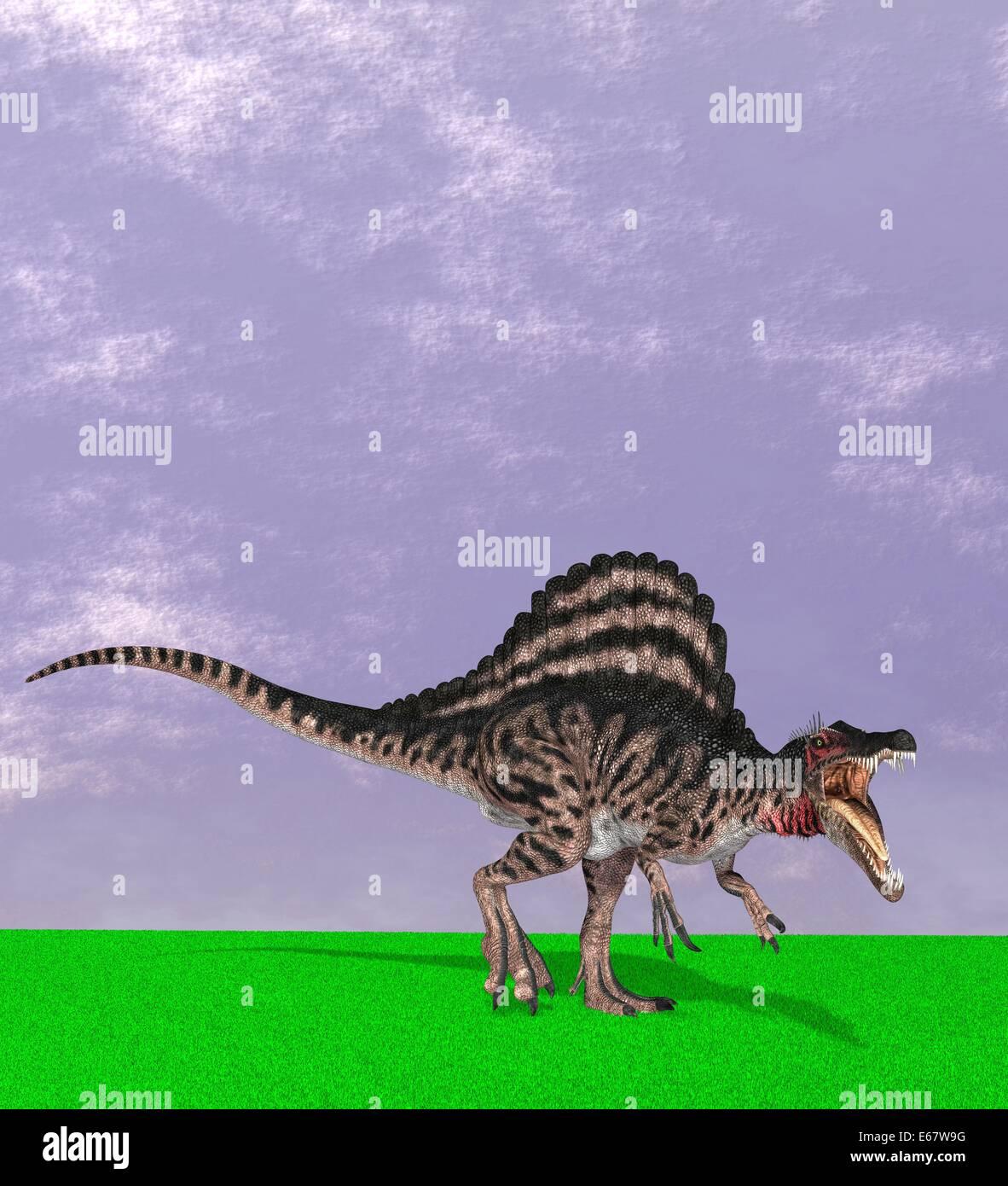 Spinosaurus Illustration Stock Photos & Spinosaurus Illustration ...