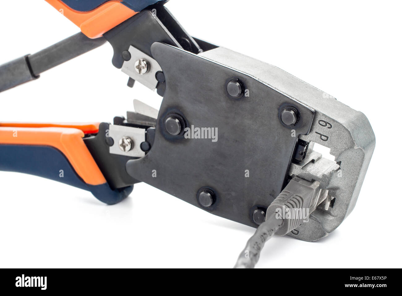 Crimping Pliers Stock Photos & Crimping Pliers Stock Images - Alamy