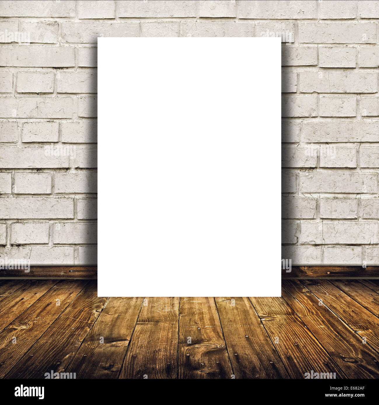 blank poster as copy space template for your artwork or design in