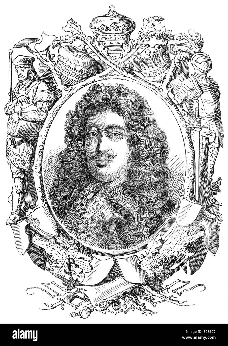 Henry Howard, 6th Duke of Norfolk, 1628-1684, Stock Photo