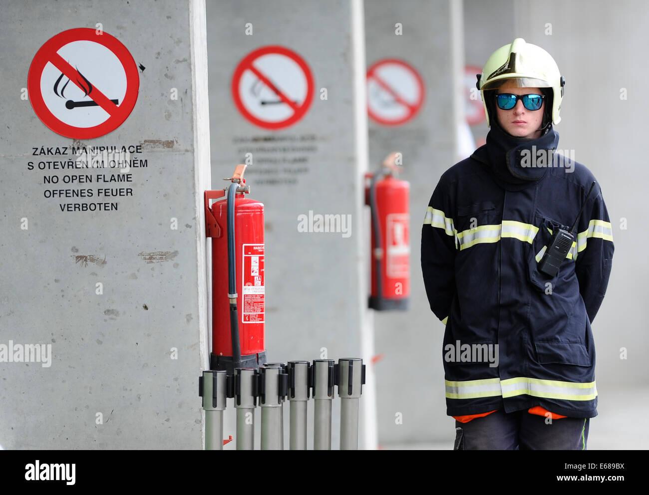Czech fireman