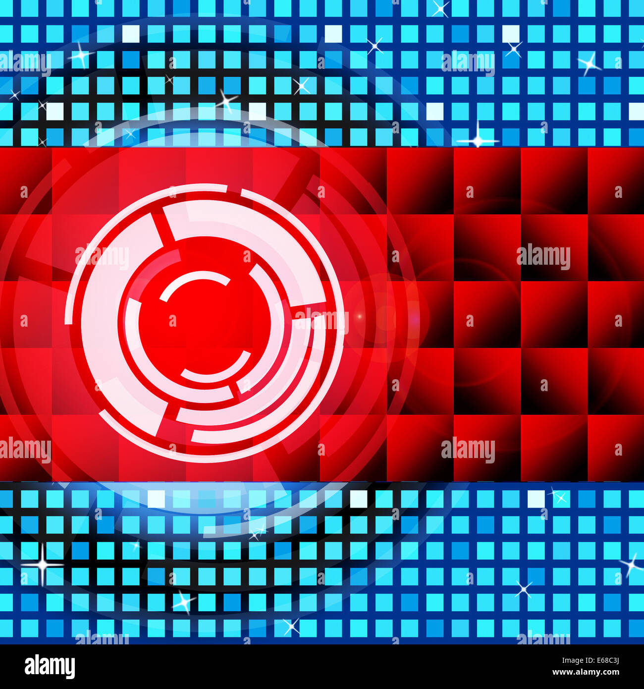 Red Circles Background Meaning Record Stock Photos Red Circles