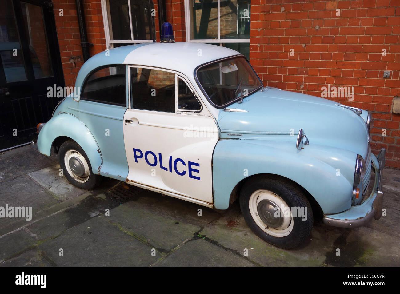 Police Car, vintage police car, Britain, UK Stock Photo: 72715211 ...