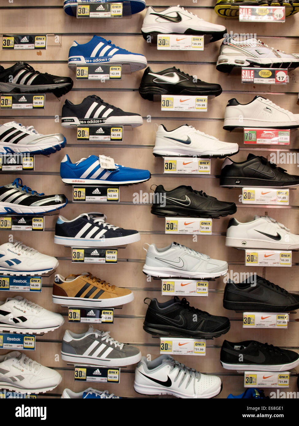 Nike Trainers Stock Photos & Nike Trainers Stock Images Alamy
