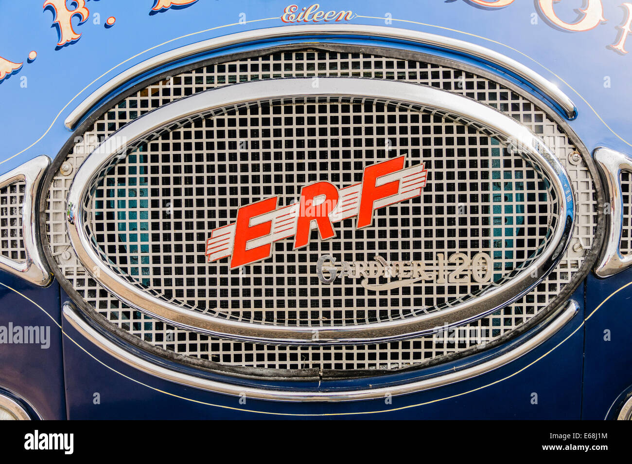 1959 ERF type 6.4G lorry - Stock Image