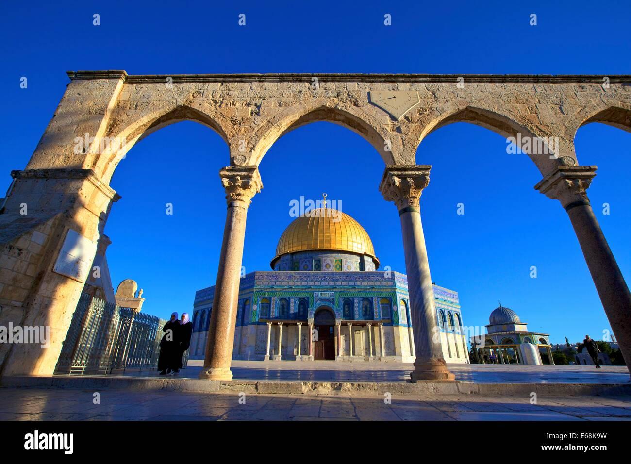 Temple Mount, Jerusalem, Israel, Middle East, Stock Photo