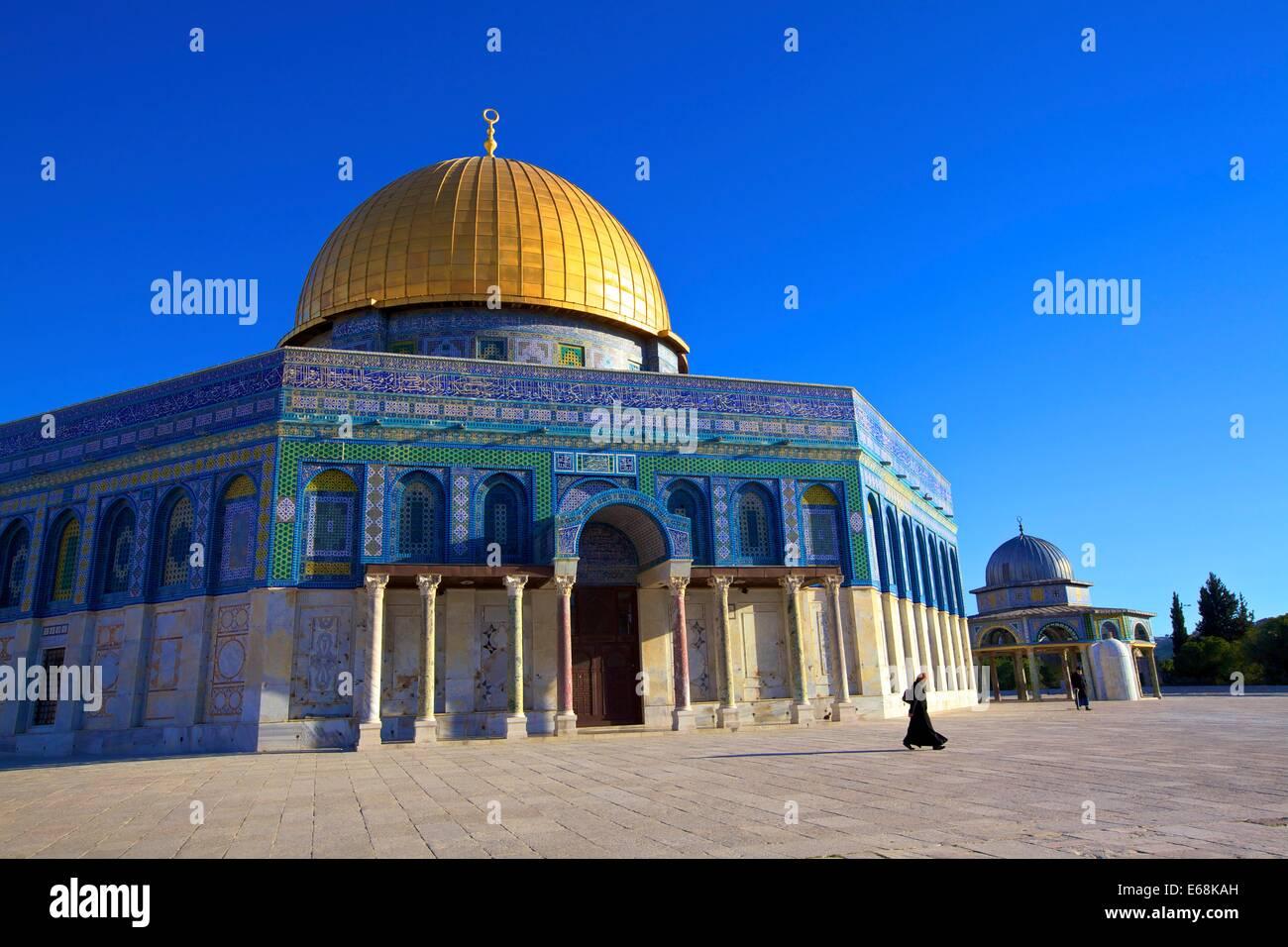 Temple Mount, Jerusalem, Israel, Middle East - Stock Image