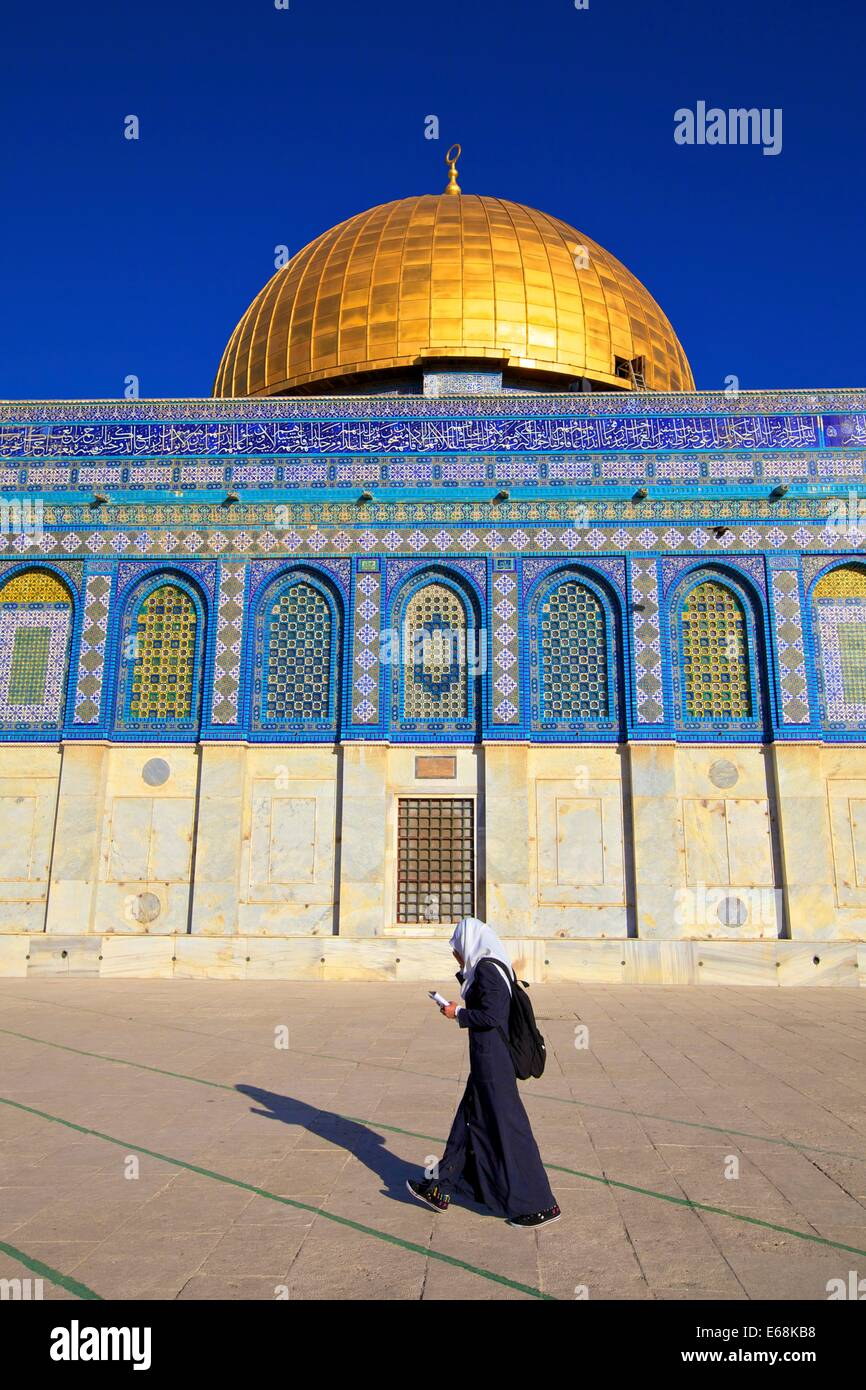 Temple Mount, Jerusalem, Israel, Middle East - Stock Image