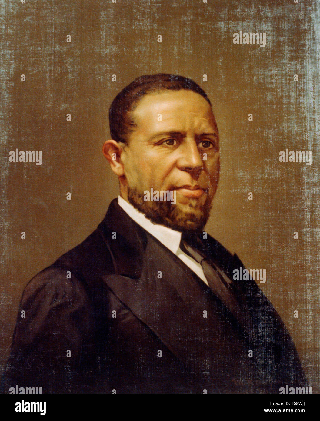 Hiram Rhodes Revels (September 27, 1827 – January 16, 1901) was a minister in the African Methodist Episcopal Church - Stock Image