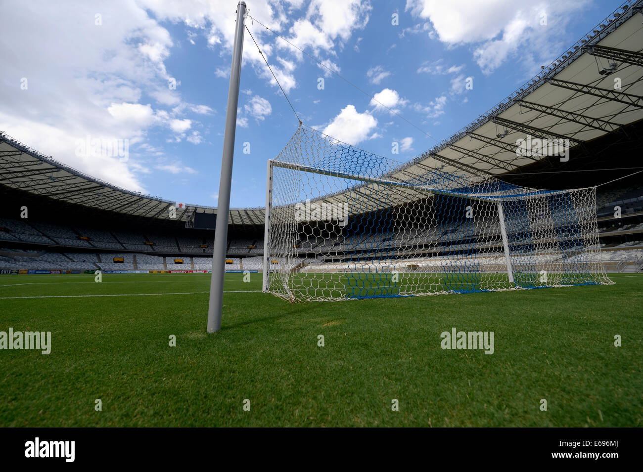 Venue for the FIFA World Cup 2014, Estadio Governador Magalhaes Pinto or Mineirao, Belo Horizonte, Minas Gerais, - Stock Image
