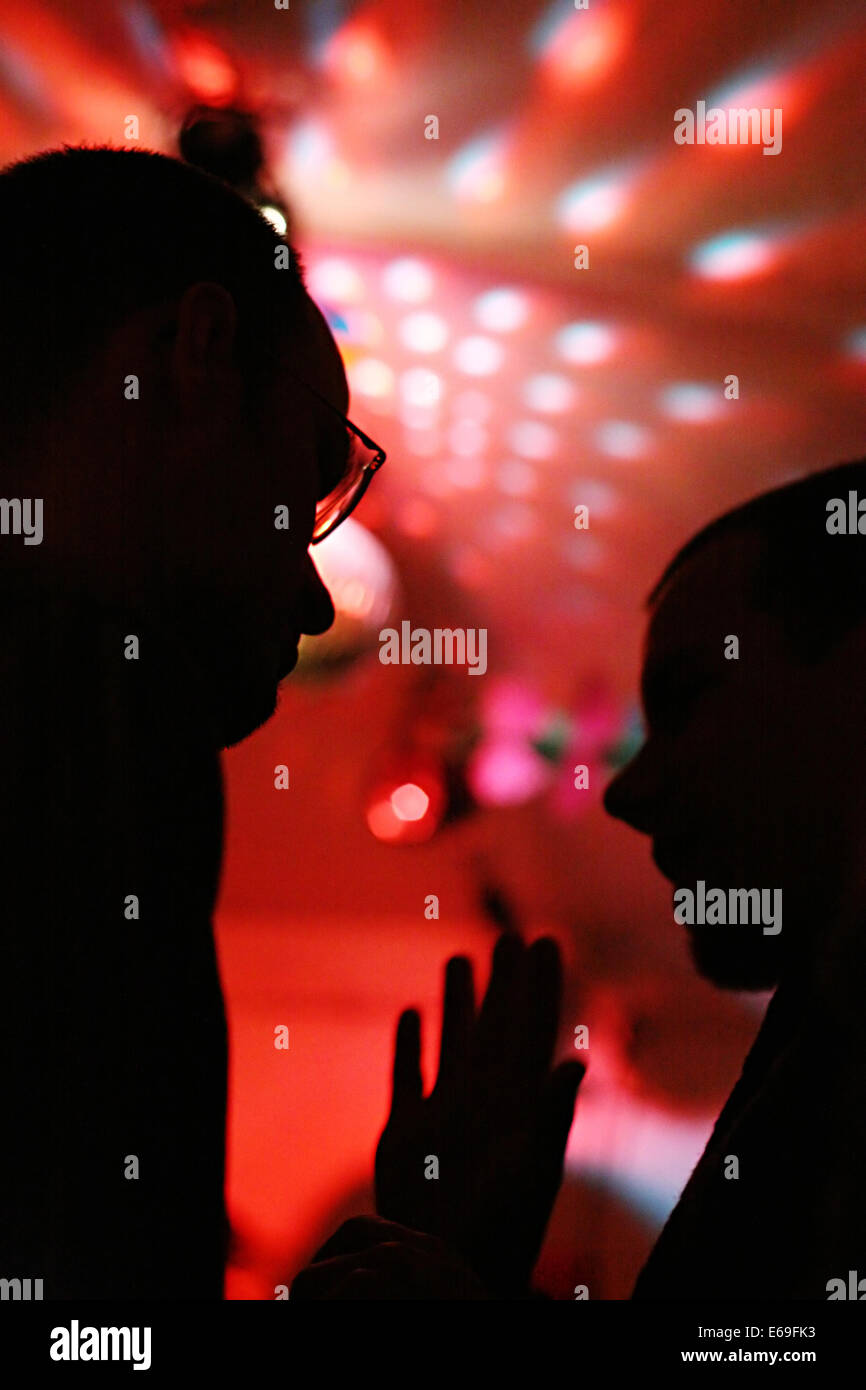 nightlife,club,bar counter - Stock Image