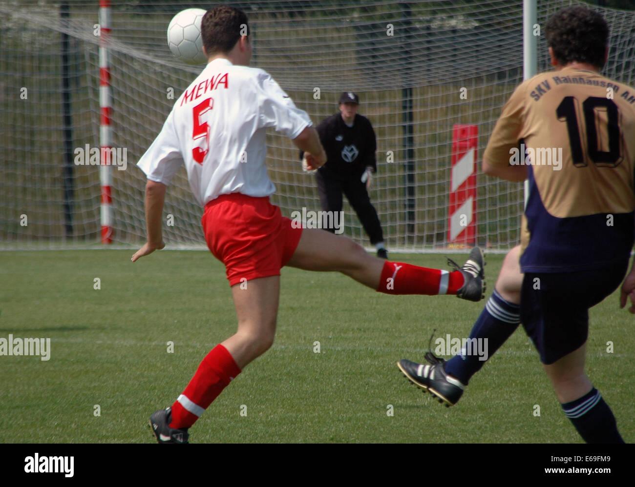 soccer,soccer player - Stock Image